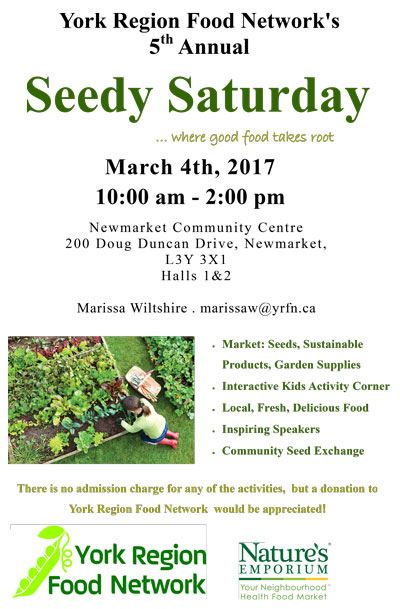 Seedy Saturday poster